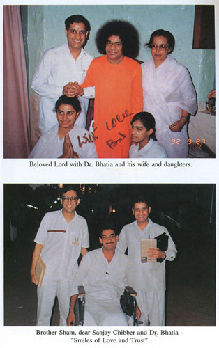 Dr. Naresh Bhatia, family and friends