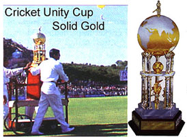 Sai Baba Cricket Unity Cup - described by Robert Priddy