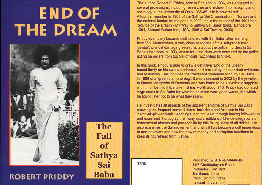 Cover of dissident Priddy's book
