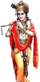 Krsna - traditional image