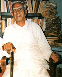 V.K. Narasimhan at home