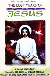 Cover of video-film by Richard Bock 'The Lost Years of Jesus'