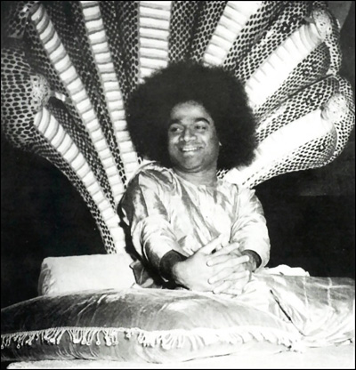 Sai Baba serpent bed
