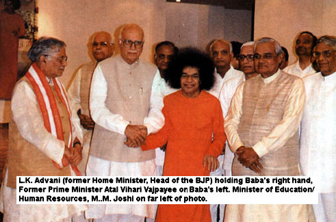 Sai with BJP