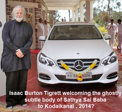 Isaac Tigrett welcome invisible subtle body of Sai Baba