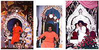 sathya sai throne